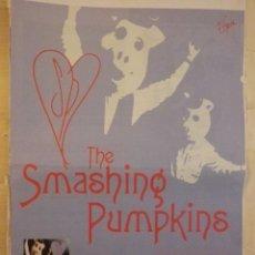 Musique de collection: THE SMASHING PUMPKINS HOJA PROMO EARPHORIA VIEUPHORIA. Lote 147655618