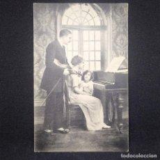 Música de colección: POSTAL PIANO, VIOLÍN. CIRCULADA. Lote 147695818