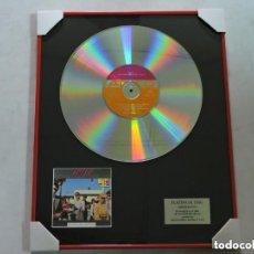 Música de colección: AC/DC - DIRTY DEEDS DONE DIRT CHEAP - DISCO DE PLATINO. Lote 147747062