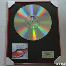 Música de colección: AC/DC - THE RAZORS EDGE - DISCO DE PLATINO. Lote 147747790
