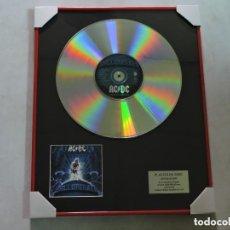 Música de colección: AC/DC - BALLBREAKER - DISCO DE PLATINO. Lote 147748390