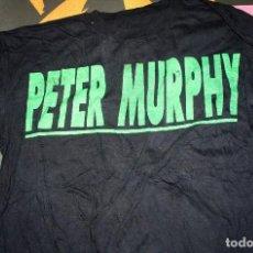 Música de colección: CAMISETA PETER MURPHY. PACHA AUDITORIUM VALENCIA. AÑOS 80. ORIGINAL. Lote 148004942
