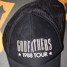 Música de colección: GORRA GODFATHERS. ORIGINAL. TOUR 1988. PACHA AUDITORIUM VALENCIA.. Lote 148005450