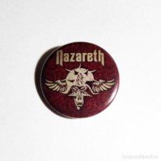 Música de colección: NAZARETH - THE ANTHOLOGY CHAPA 31MM (CON IMPERDIBLE) - HARD ROCK. Lote 45507288