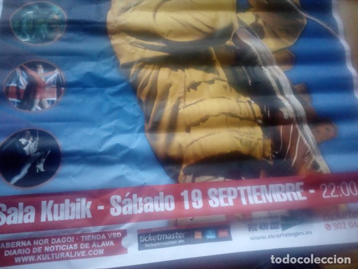 Música de colección: Gran cartel.Poster.Remember Queen .Año 2015.Sala Kubik.Alava.Vitoria. - Foto 3 - 148593566
