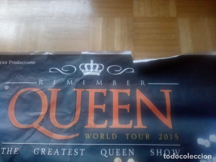 Música de colección: Gran cartel.Poster.Remember Queen .Año 2015.Sala Kubik.Alava.Vitoria. - Foto 4 - 148593566