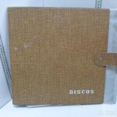 Música de colección: ALBUM VINTAGE PARA VINILOS DE 33 RPM. Lote 148612658