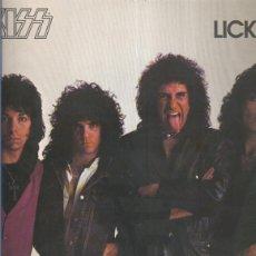 Música de colección: DISCO LP: KISS: LICK IT UP. Lote 148633784