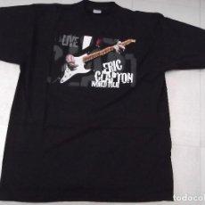 Música de colección: ERIC CLAPTON - CAMISETA OFICIAL WORLD TOUR 1998. Lote 148756882
