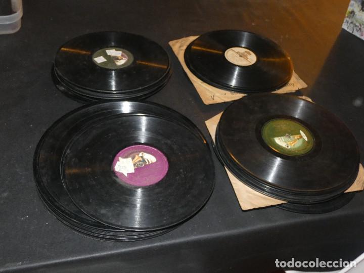 TREMENDO LOTE DE 65 DISCOS DE PIZARRA, LISTADOS, CON DOS OPERAS COMPLETAS EN CAJA VER FOTOS (Música - Varios)