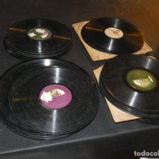 Música de colección: TREMENDO LOTE DE 65 DISCOS DE PIZARRA, LISTADOS, CON DOS OPERAS COMPLETAS EN CAJA VER FOTOS. Lote 150032510