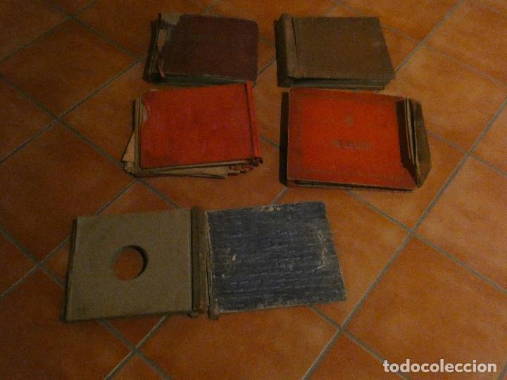 Música de colección: TREMENDO LOTE DE 65 DISCOS DE PIZARRA, LISTADOS, CON DOS OPERAS COMPLETAS EN CAJA ver fotos - Foto 2 - 150032510