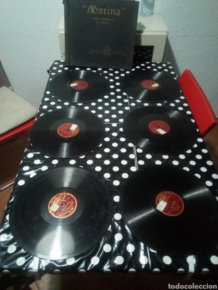 Música de colección: TREMENDO LOTE DE 65 DISCOS DE PIZARRA, LISTADOS, CON DOS OPERAS COMPLETAS EN CAJA ver fotos - Foto 4 - 150032510