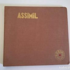 Música de colección: CURSO DE INGLES ASSIMIL ANGLAIS 154 LECCIONES EN 5 DISCOS EDICION FRANCESA ANTIGUO. Lote 150216150