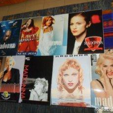 Música de colección: CALENDARIO DE PARED MADONNA AÑOS 1993. 1994, 1995, 1996, 1997, 1998, 1999, 2000 Y 2001. REGALO 2 VHS. Lote 150536234