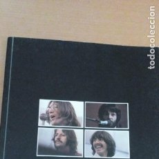 Música de colección: THE BEATLES GET BACK LIBRO DEL DISCO ORIGINAL EN INGLÉS. Lote 150820706