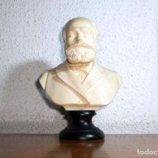 Música de colección: BUSTO CHARLES GOUNOD COLOR MARFIL. MEDIDAS: 16 X 10 X 6 CM. PESO: 325 G. Lote 152216670