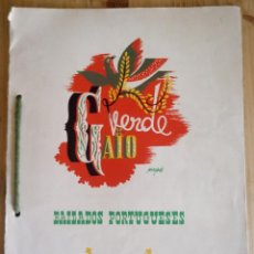 Música de colección: BAILADOS PORTUGUESES - VERDE GAIO - VER DESCRIPCION - PROPAGANDA NACIONAL . Lote 154433346