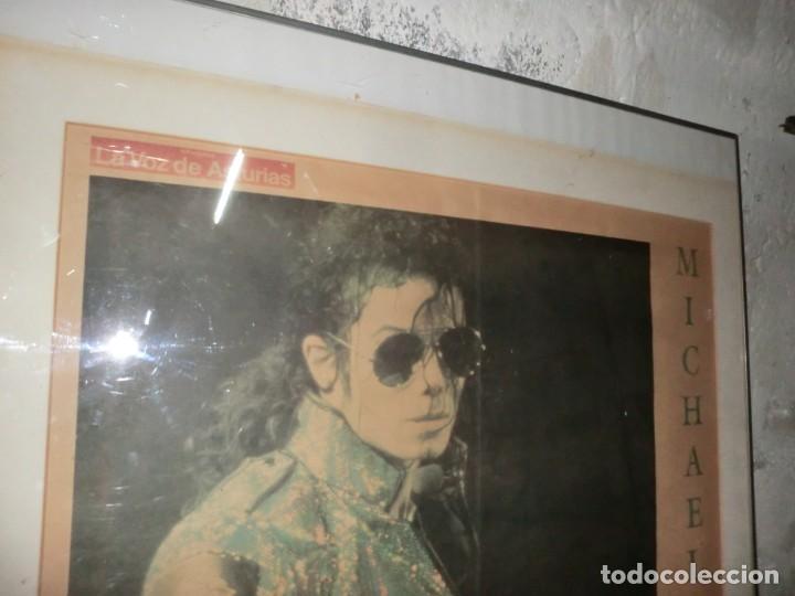 Música de colección: ENORME CUADRO DE CRISTAL, CON MICHAEL JACKSON EN UNA EDICION DE TIRADA ESPECIAL DE 1992 - Foto 4 - 154497374