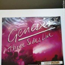 Música de colección: GENESIS THREE SIDES LIVE . LASERDISC .NUEVO.PRECINTADO.. Lote 154656754