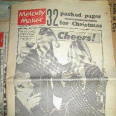 Música de colección: MELODY MAKER EXTRA 1962 32 PAGINAS NAVIDAD THE BEATLES EN LA LISTA DE SENCILLOS. Lote 154703002