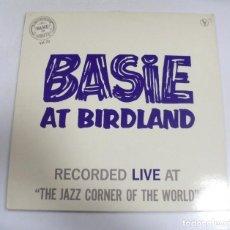 Música de colección: LP. BASIE AT BIRDLAND. BASIE ON ROULETTE VOL.20. . Lote 154741926
