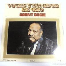 Música de colección: LP. VOCES Y SONIDOS DE ORO. COUNT BASIE. VOL.7. MCA. Lote 154742002
