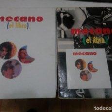 Música de colección: MECANO - EL LIBRO - LUCA 1992 - CON CD PROMOCIONAL Y SOBRECUBIERTA EN CARTONE - CANCIONES, BIOGRAFIA. Lote 155795602