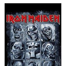 Música de colección: POSTER IRON MAIDEN - EDDIES - 61 X 91,5 CM. A ESTRENAR. Lote 155823258