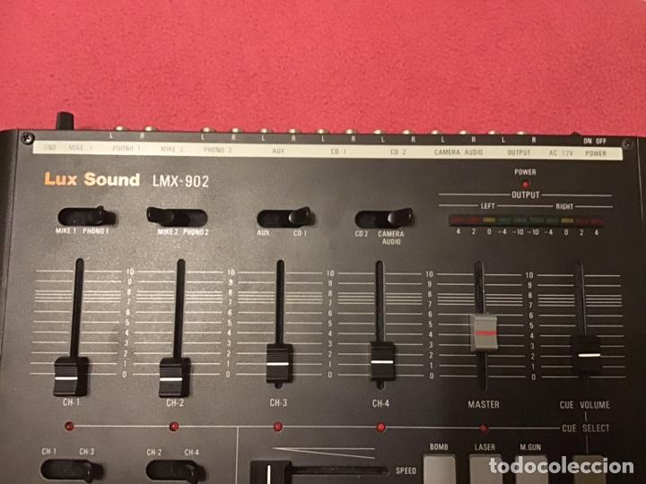 Música de colección: MESA DE MEZCLA LUX SOUND LMX 902 - Foto 4 - 159909020