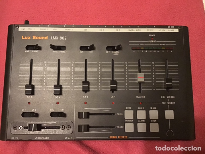 Música de colección: MESA DE MEZCLA LUX SOUND LMX 902 - Foto 6 - 159909020