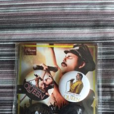 Musica di collezione: LOTE 4 CHAPAS QUEEN GOD SAVE THE QUEEN FREDDIE MERCURY EN BLISTER ORIGINAL. Lote 160533338