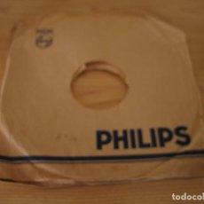 Música de colección: FUNDA DISCOS DE PIZARRA PHILIPS. Lote 160694454