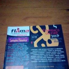 Música de colección: FLAMA LA GUIA FLAMENCA. Nº 137. AGOSTO 2017. EST2B3. Lote 161829798