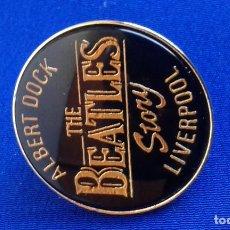 Música de colección: PIN THE BEATLES -ALBERT DOCK (LIVERPOOL). Lote 162113270