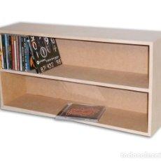 Musica di collezione: MUEBLE ESTANTERIA PARA 100 CD COMPACT DISC. Lote 241366365