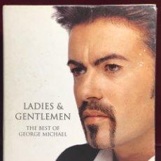 Musica di collezione: MINI DISC GEORGE MICHAEL THE BEST OF GEORGE MICHAEL. Lote 163106777