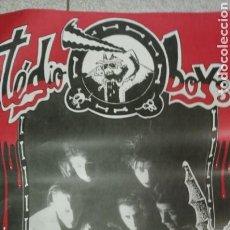Música de colección: TÉDIO-BOYS (TONI FORTUNA) CARTEL ORIGINAL DE CONCIERTO AÑO 1993-94. PORKABILLY PSYCHOSIS.. Lote 163442242