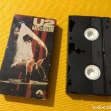 Música de colección: ANTIGUA CINTA VIDEO U2. Lote 163528754