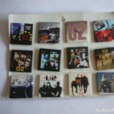 Música de colección: COLECCIÓN DE 12 CHAPAS U2. POP, ZOO TV, BEAUTIFUL DAY, SLANE CASTLE, BONO.... Lote 163709498