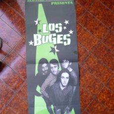 Música de coleção: POSTER CONCIERTO BARCELONA THE BUGES. AÑOS 90. . Lote 164101178