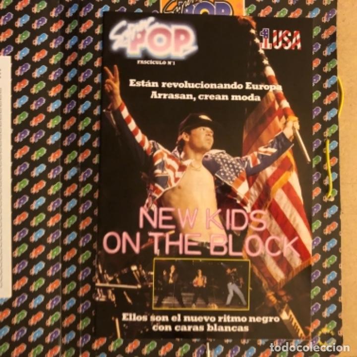 Música de colección: CARPETA DE LA REVISTA SUPER POP (1990). MÚSICA Y CINE. CON FASCÍCULO N°1 NEW KIDS ON THE BLOCK - Foto 2 - 164338458