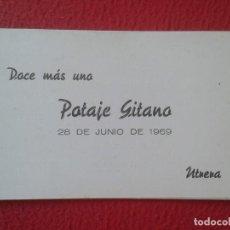Música de colección: DÍPTICO POTAGE GITANO 1969 UTRERA HOMENAJE A MANUEL MAIRENA FLAMENCO FERNANDA Y BERNARDA COCA COLA... Lote 164959146