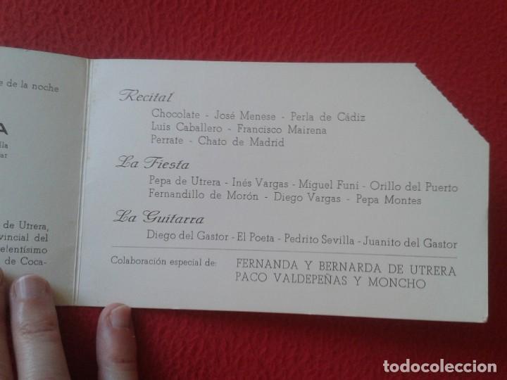 Música de colección: DÍPTICO POTAGE GITANO 1969 UTRERA HOMENAJE A MANUEL MAIRENA FLAMENCO FERNANDA Y BERNARDA COCA COLA.. - Foto 5 - 164959146
