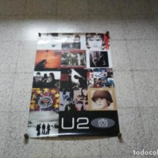 Música de colección: PÓSTER U2 DISCOGRAFÍA 2001. BOY, OCTOBER, WAR... 86 X 61 CM. Lote 165660146