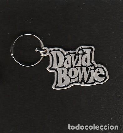 DAVID BOWIE: LLAVERO DE METAL- EXCLUSIVO- SOLIDO Y NUEVO-COLECCIONISTAS (Música - Varios)