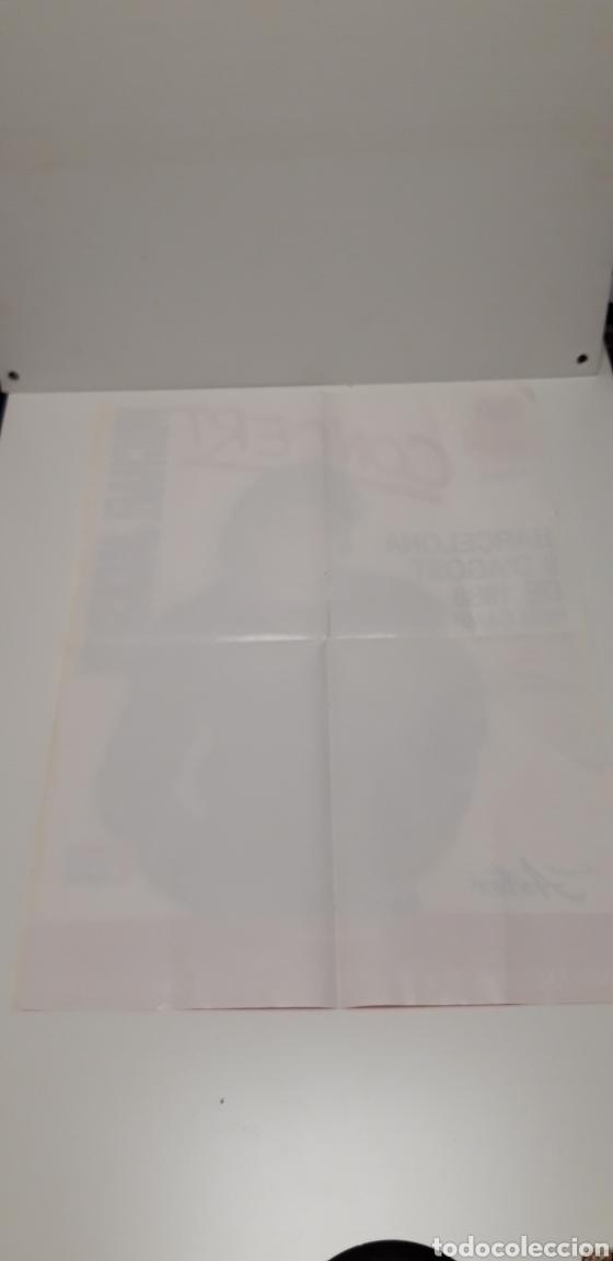 Música de colección: Antiguo póster concert Michael Jackson 1988 - Foto 2 - 167808017