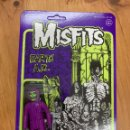 Música de colección: FIGURA MISFITS EARTH A.D. REACTION SUPER7. Lote 168566820