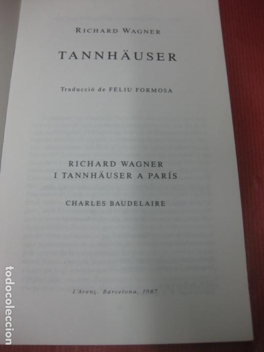 Música de colección: RICHARD WAGNER I TANNHAUSER A PARIS. CHARLES BAUDELAIRE. - Foto 2 - 168670476