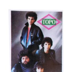 Musique de collection: CROMO SUPER MUSICAL 20. TOPO. EYDER, CIRCA 1980. Lote 168930046